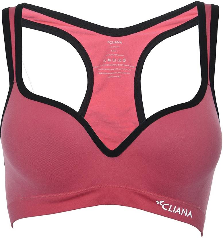 4bcb5567ec7ec Cliana by CLIANA Women Sports Lightly Padded Bra - Buy Cliana by ...