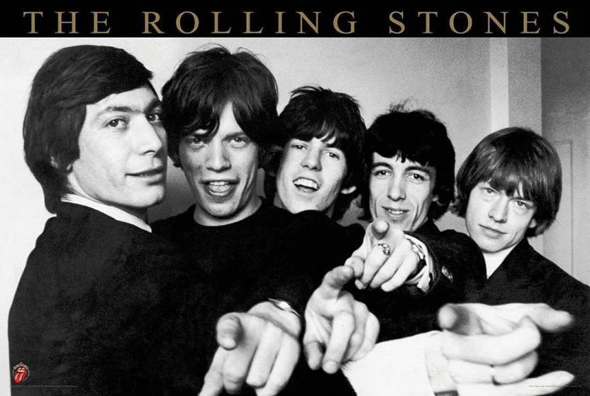 PL Rolling Stones Band Members Wall Poster 13*19 inches