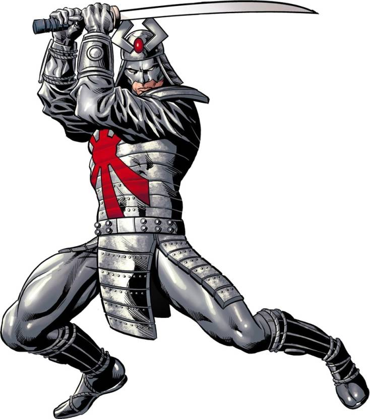 PL X-Men Silver Samurai Wall Wall Poster 13*19 inches Paper