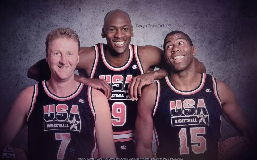 low priced 68351 85b55 PL Olympic Games Basketball Olympics Larry Bird Michael ...
