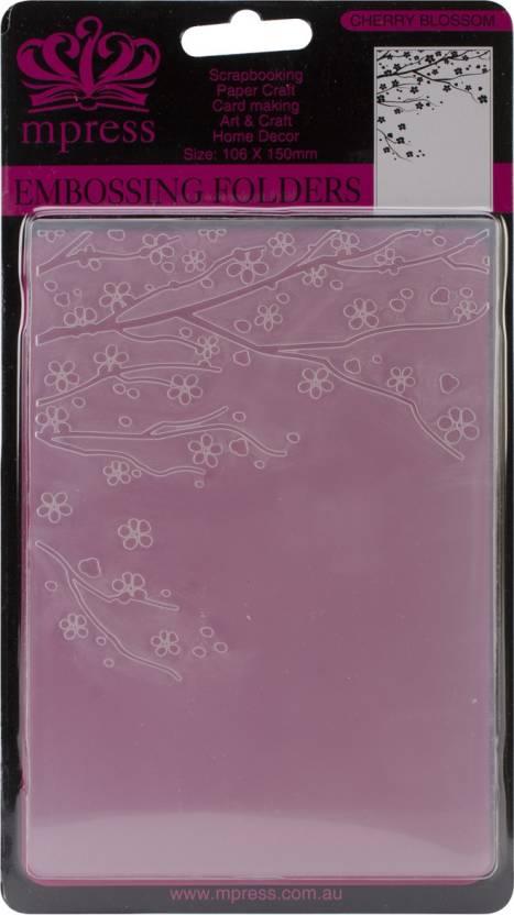 Ecstasy Crafts Nellie Snellen Embossing Folder 4 X6 Cherry
