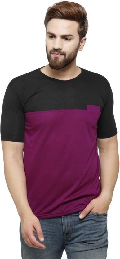 bed78ce16c8 Rico Sordi Solid Men s Round Neck Multicolor T-Shirt - Buy Black ...
