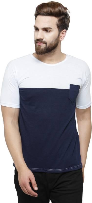 ec9690d0c94 Rico Sordi Solid Men s Round Neck Multicolor T-Shirt - Buy White ...