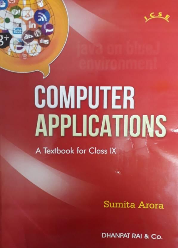 icse computer applications a textbook for class ix buy icse