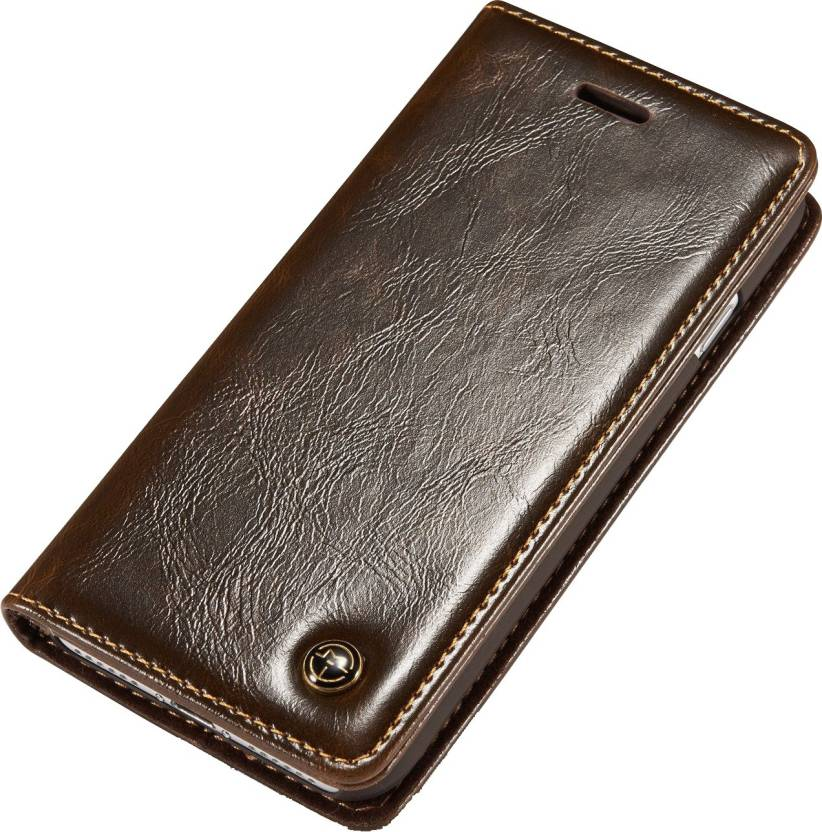 best service c21e6 89afa Excelsior Wallet Case Cover for VIVO V7 Plus