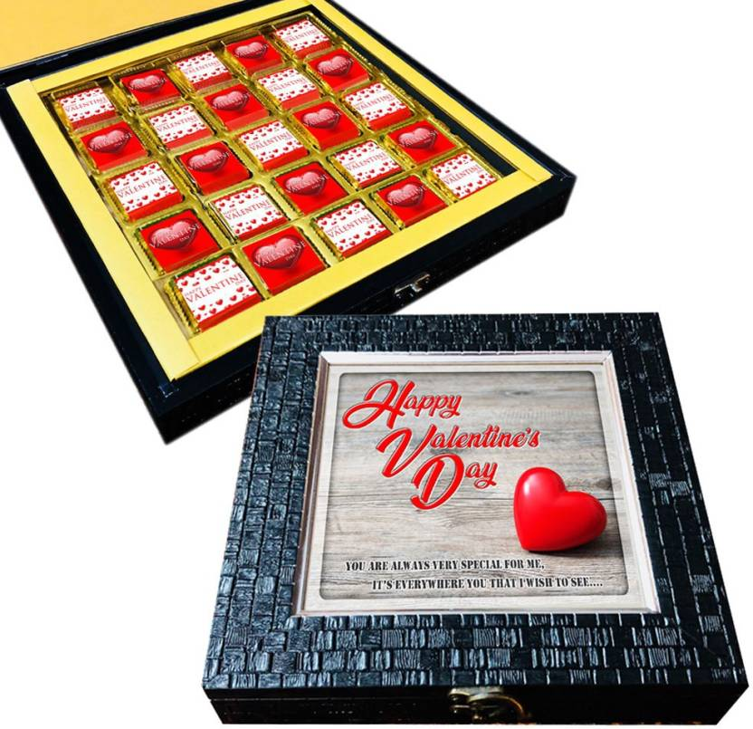 Mystik Happy Valentine S Day Gift Box For Him For Her 25pc Chocolate