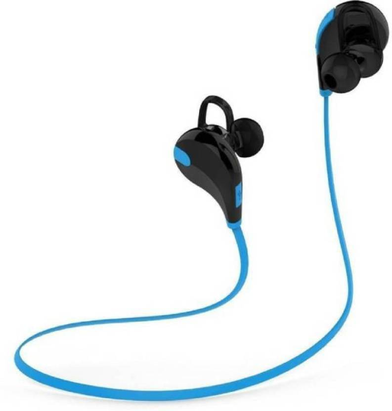 f4f0e28230f SYL PLUS JOGGER® SPORTS Bluetooth Headset Wireless 4.1 Handfree Stereo  Headphone.HQ Bluetooth Headset with Mic (Blue, In the Ear)