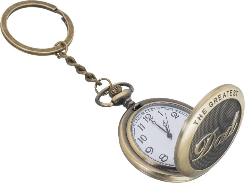 Shubheksha The Greatest Dad Designer Pocket Watch Vintage Clock Metallic Key  Chain Price in India - Buy Shubheksha The Greatest Dad Designer Pocket Watch  ... 3a8124e1e