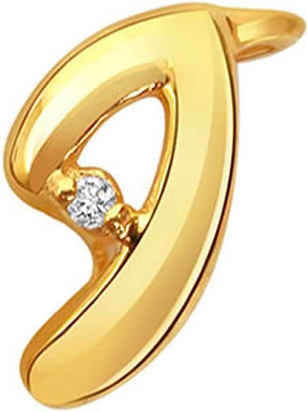 4a8a101f09a7 Surat Diamond Wild Child 18kt Diamond Yellow Gold Pendant Price in India -  Buy Surat Diamond Wild Child 18kt Diamond Yellow Gold Pendant online at  Flipkart. ...