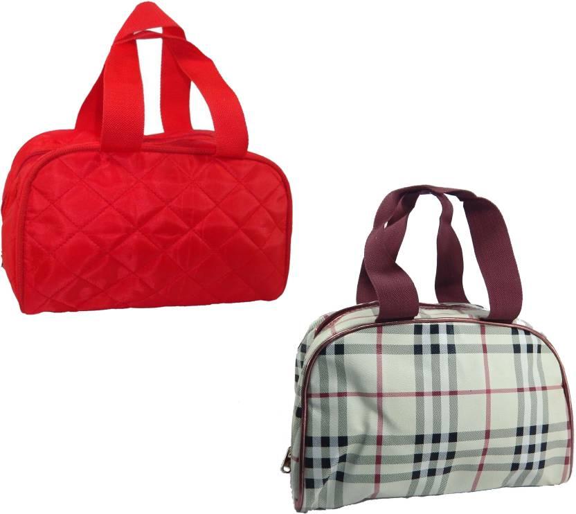 2bd6c1e2f9f3 RK Brands Designer Vanity, Makeup, Cosmetic Bags (Set of 2 pc ...