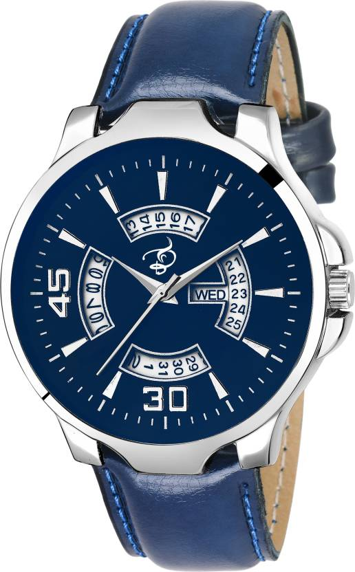 Britex BT7028 Bluebird~ Day and Date Functioning analog Watch - For Men