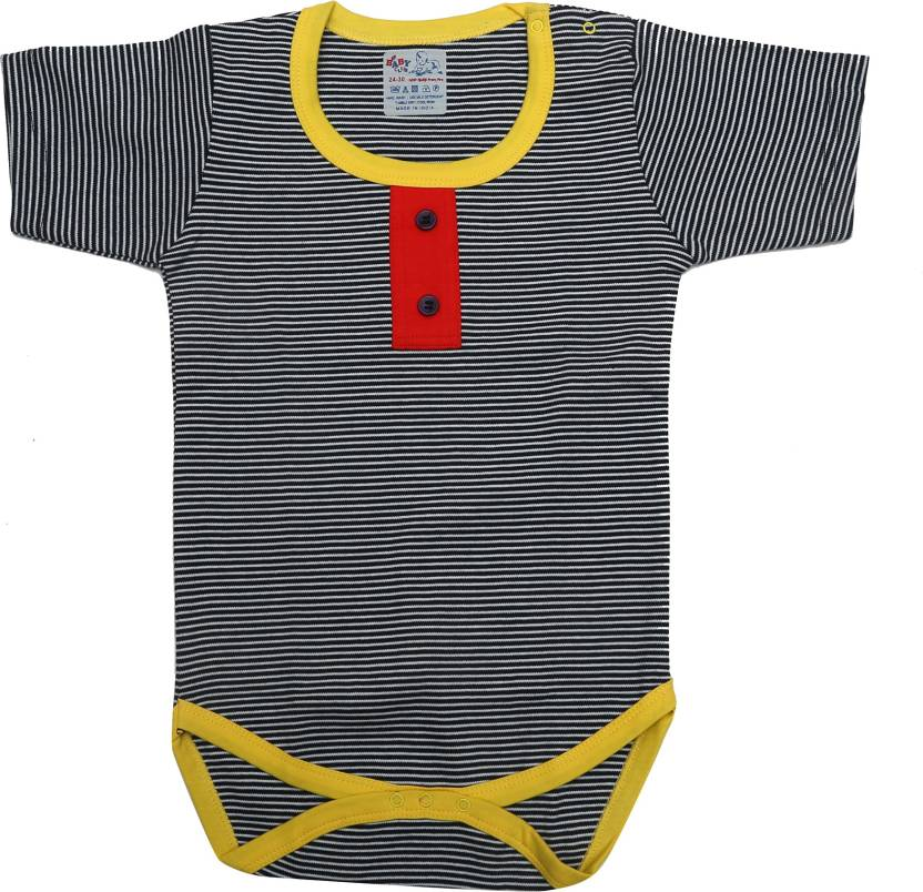 d87b3e491d19 KABOOS Baby Boy s   Baby Girl s Black Bodysuit - Buy KABOOS Baby Boy s    Baby Girl s Black Bodysuit Online at Best Prices in India
