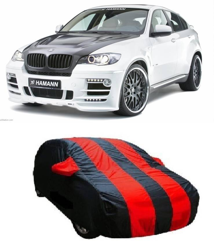 Dogwood Car Cover For Bmw X6 With Mirror Pockets Price In India