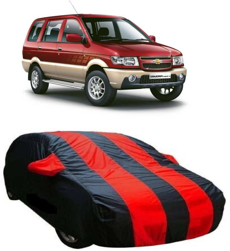 Crocus Car Cover For Chevrolet Tavera With Mirror Pockets