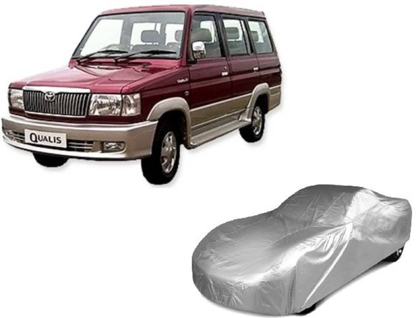 Irontech Car Cover For Toyota Qualis With Mirror Pockets Price In