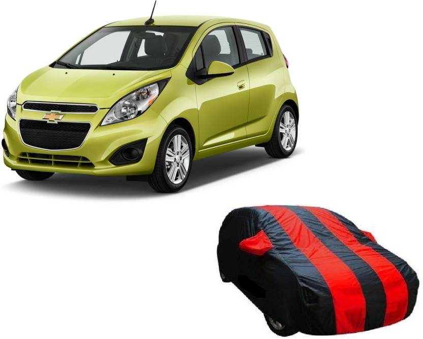 Toy Ville Car Cover For Chevrolet Spark Without Mirror Pockets