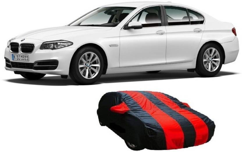 Auto Track Car Cover For Bmw 5 Series With Mirror Pockets