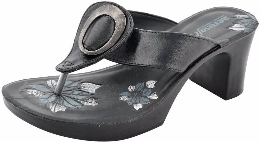 6ff9b7a856d9 Aerosoft Women Black Heels - Buy Black Color Aerosoft Women Black Heels  Online at Best Price - Shop Online for Footwears in India