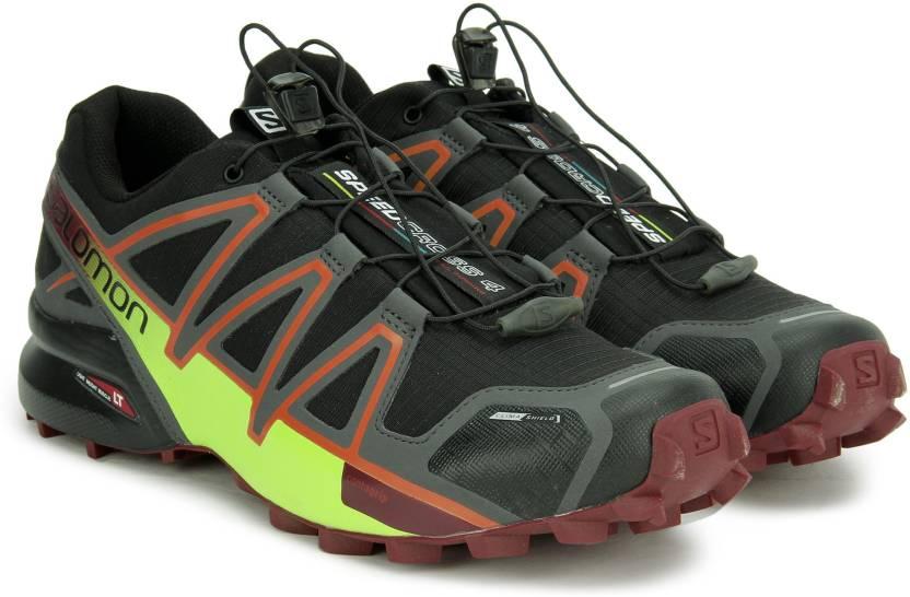 info pour df220 9cc20 Salomon Speedcross 4 Trail Running Shoe For Men - Buy BLACK ...