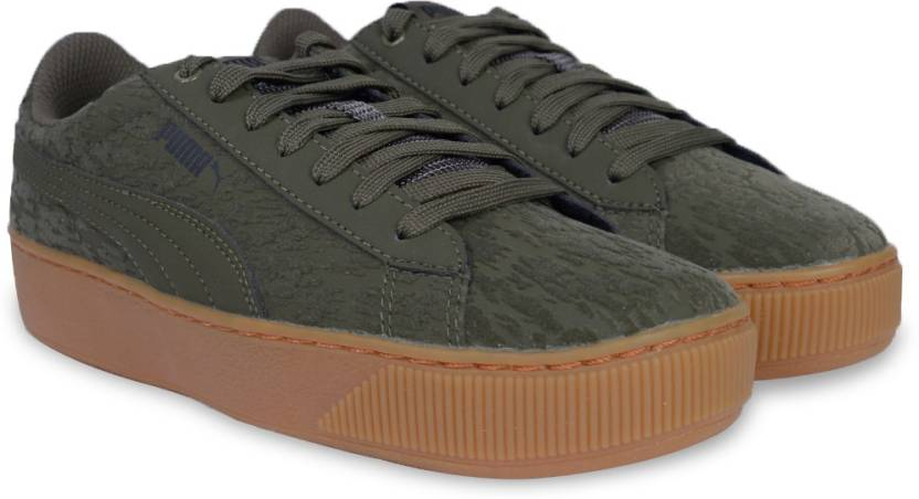 d307f14ce512 Puma Puma Vikky Platform VR Sneakers For Women - Buy Olive Night ...