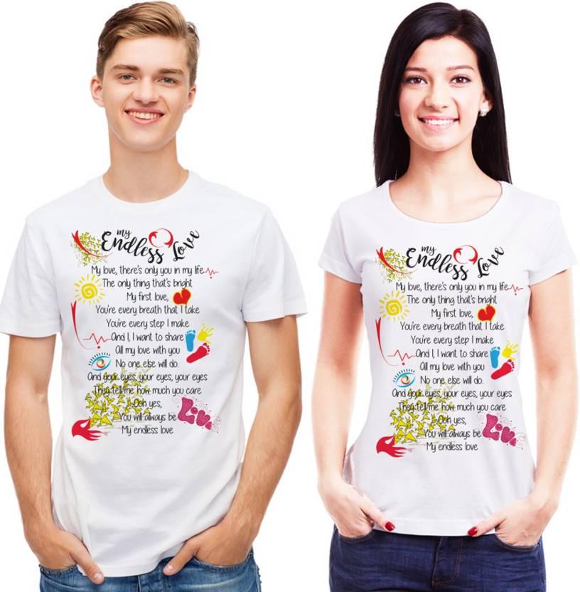 d251439069 6th Cross Printed Men's & Women's Round Neck White T-Shirt - Buy 6th ...
