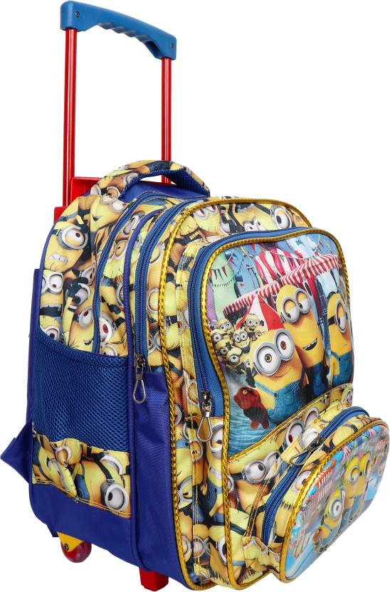 okji enterprises OkjI Trolley School Bag for Boys   Girls 18 Inches in  Height for Age Group - (4-12) Kids Waterproof School Bag (Multicolor, 18  inch) 825f2512a8
