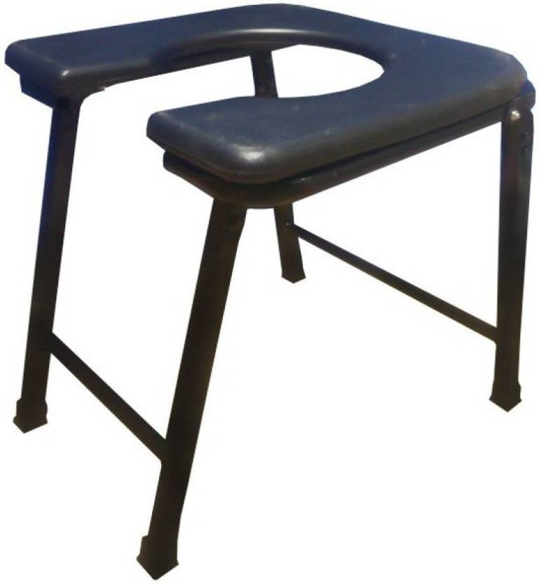 f61233fdd Medtrix Heavy Duty Folding Commode Stool Premium Commode Chair Price ...