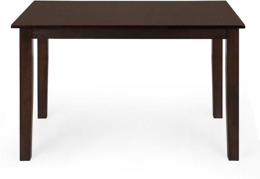 @home By Nilkamal Precious Engineered Wood 4 Seater Dining Table
