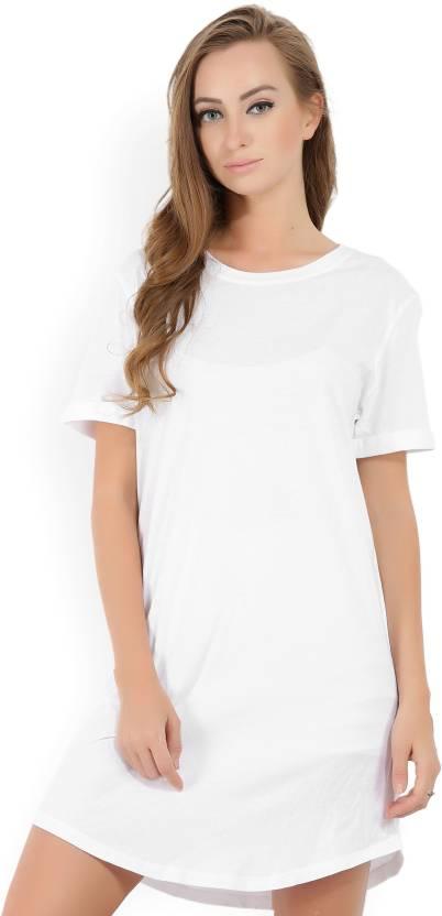 Forever 21 Women T Shirt White Dress Buy White Forever 21 Women T