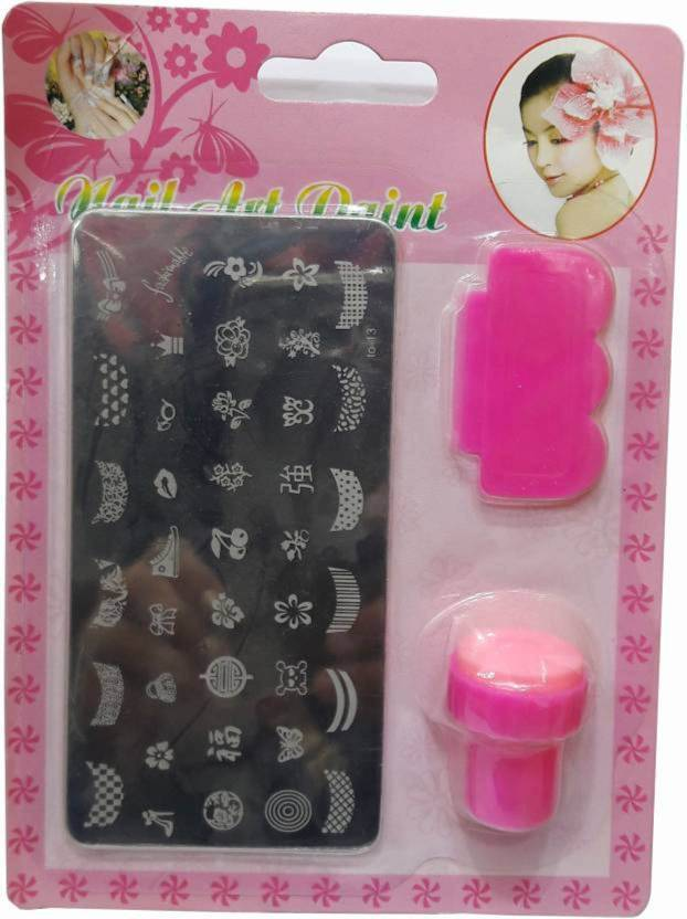 Bolax Nail Polish Art Decoration Stamping Kit Price In India Buy