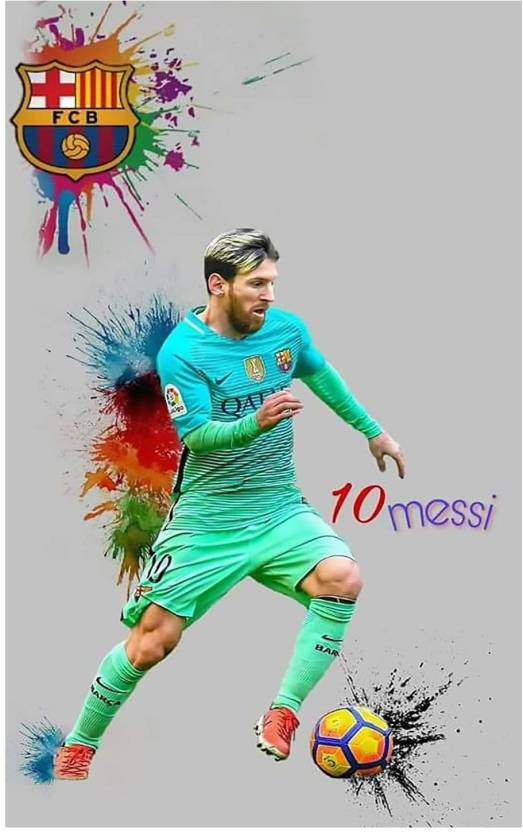43d59fd6b Lionel Messi Poster - leo messi poster - messi posters - messi motivational  quotes poster - Football Poster - poster for room Paper Print (18 inch X 12  inch ...