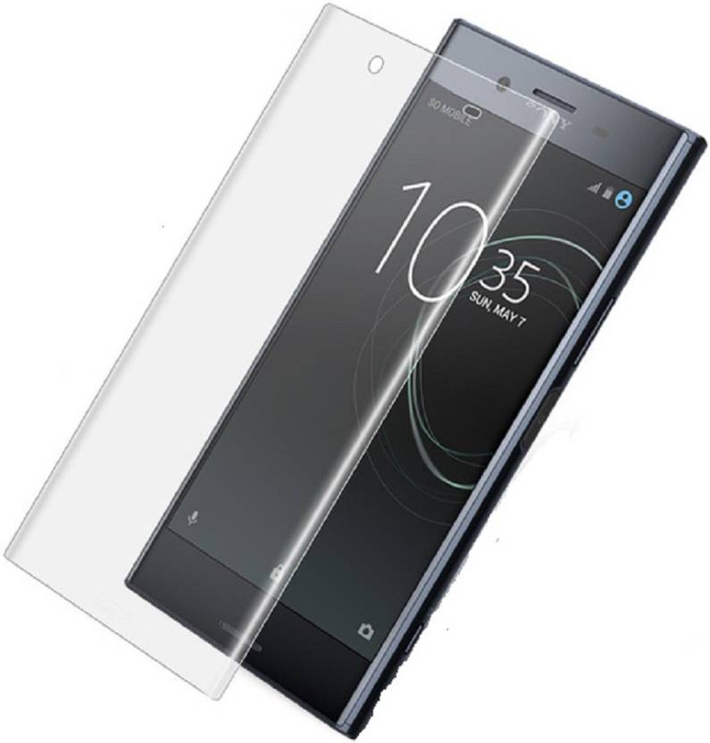 Maxpro Edge To Edge Tempered Glass for 5D Tempered Glass Sony Xperia XA1  Plus Transparent