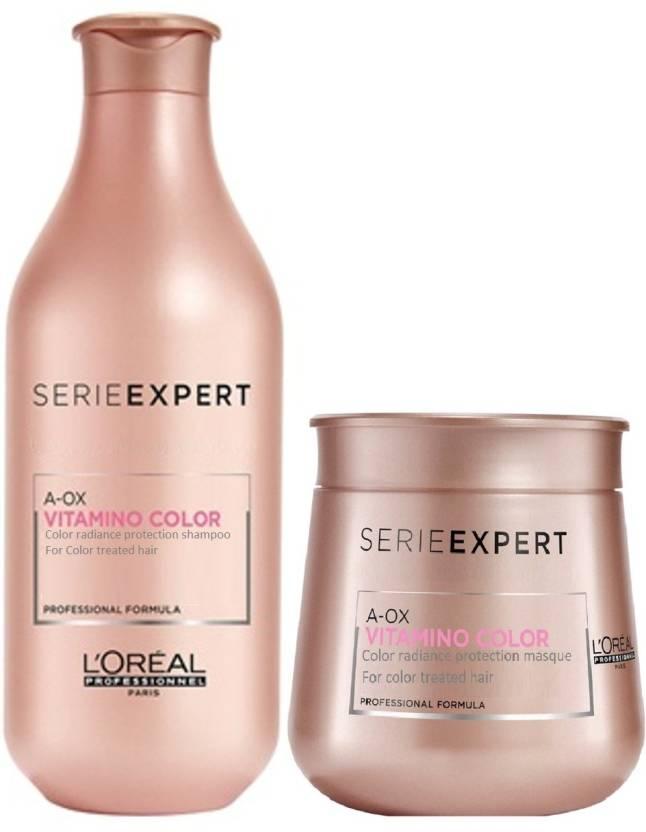 5c3c90511 L'Oreal Serie Expert A-Ox Vitamino Color Shampoo + Masque - Price in ...