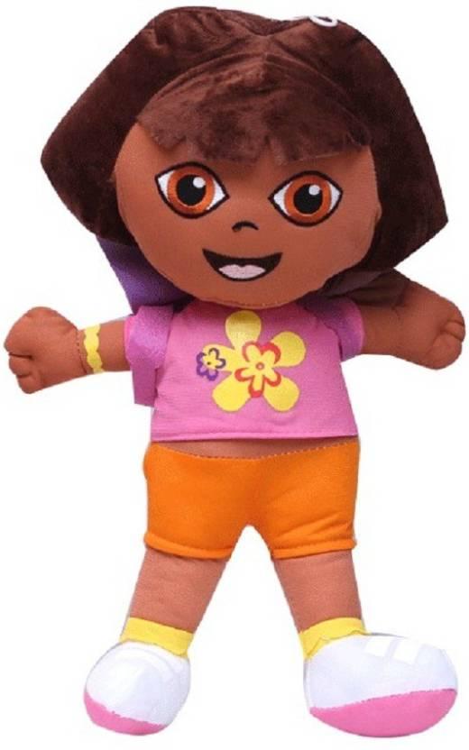 Tako bell Cute Little Dora Doll with school Bag 20 Cms - 20 cm (Multicolor) 8125315148175