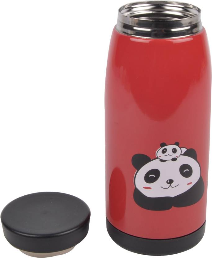 Yellow Bee Hot & Cold Red Panda Thermos Flask 350 ml Flask