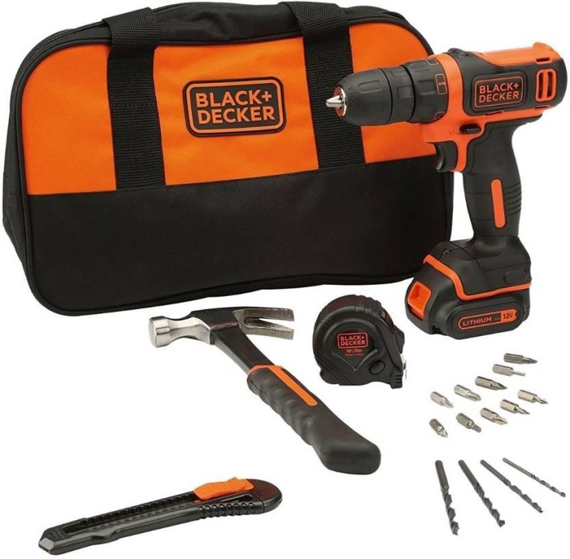 7b38ebe22 Black   Decker BDCDD12HTSA-IN Angle Drill Price in India - Buy Black ...