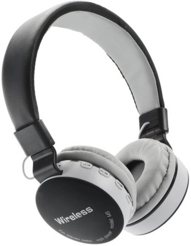 Avmart BRANDED MS-881A Full Dolby Sound Bluetooth Wireless Headphone With  FM and Micro SD Compatible with PC,iPhones iPads Android Phones Tablets