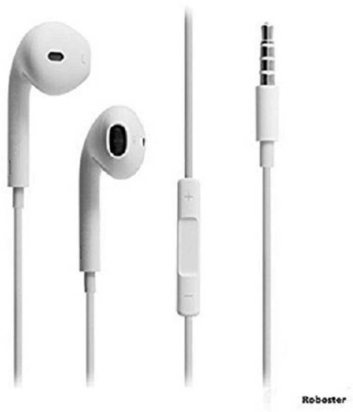 Mobone ™ For Apple In-Ear Headphones with Microphone and Noise Isolating headset  for Apple iPhone iPod iPad Samsung Galaxy S7 S8 and Android Devices (White)  ... dad5cdd92b134