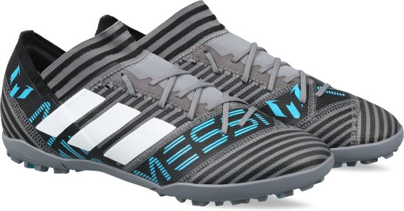 low cost 074a4 888c0 ADIDAS NEMEZIZ MESSI TANGO 17.3 TF Football Shoes For Men (Blue, Grey)