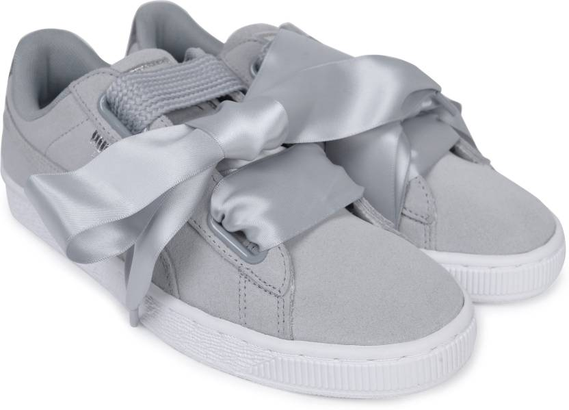 727dd7fbfde56a Puma Suede Heart Safari Wn s Sneakers For Women - Buy Quarry-Quarry ...