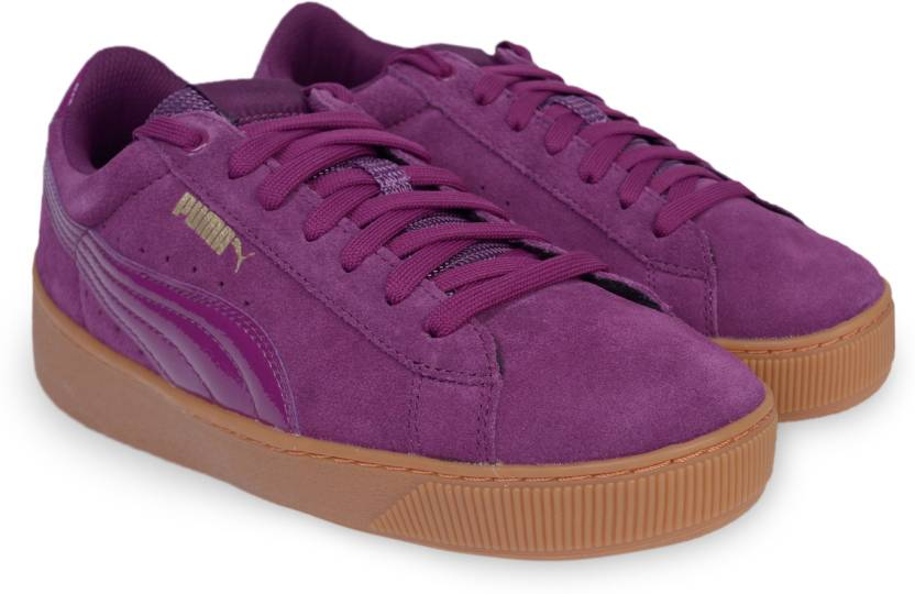 b703eb8a46d8 Puma Puma Vikky Platform Sneakers For Women - Buy Dark Purple-Dark ...