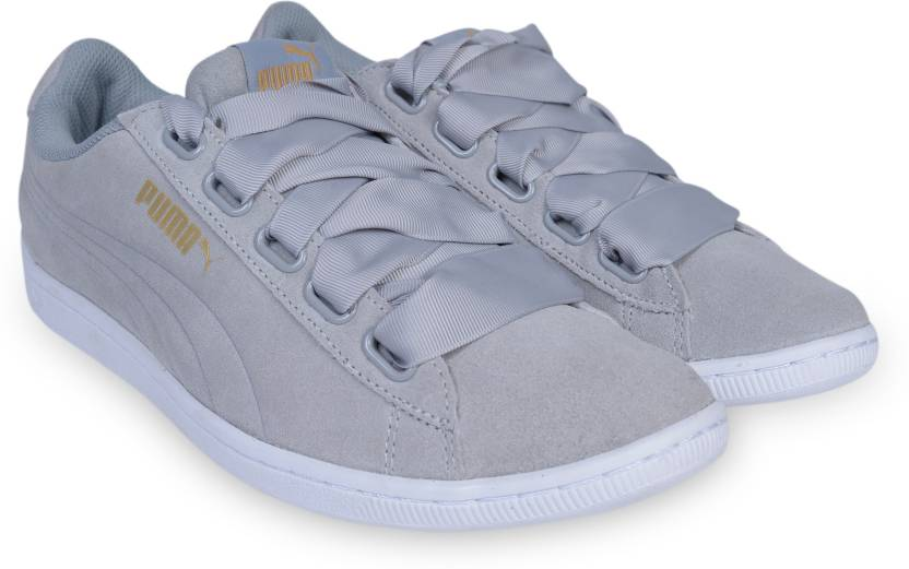 Puma Puma Vikky Ribbon Sneakers For Women - Buy Quarry-Quarry Color ... 804483543