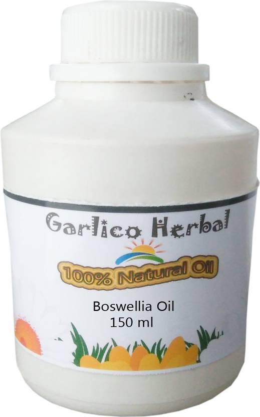 GARLICO HERBAL 100% Natural Boswllia Oil 150 ml (Boswellia serrata