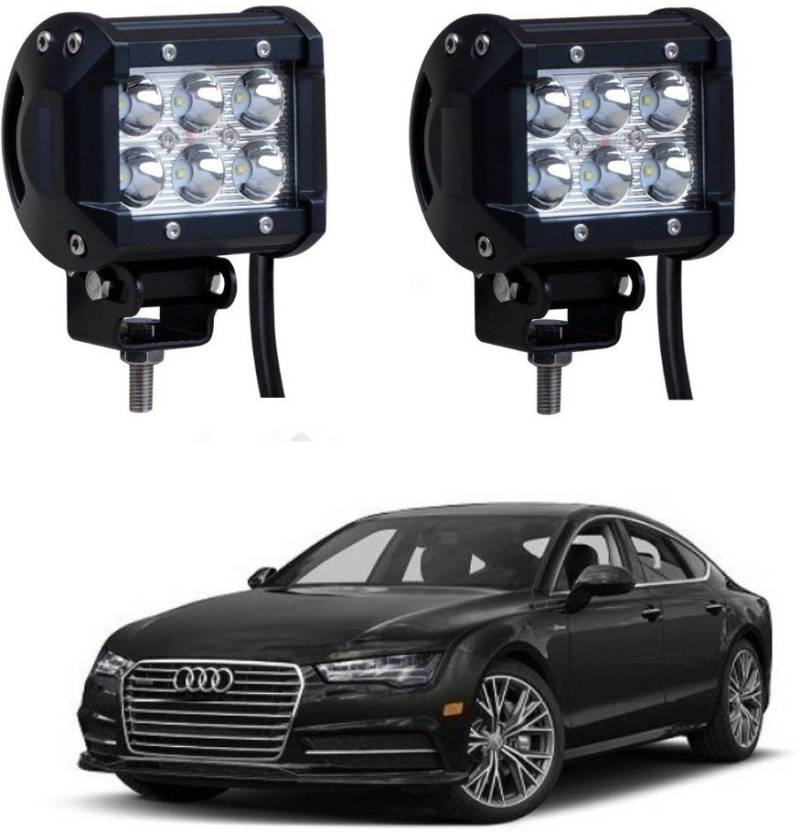 Auto Garh 6 Led Fog Light For Carsoff Road Vehicle Truck 4wd Suv