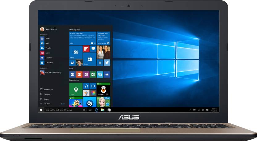 Asus Core i3 6th Gen - (6 GB/1 TB HDD/Windows 10 Home) X540UA-GQ284T Laptop  (15.6 inch, Black, 2 kg) Asus Laptops
