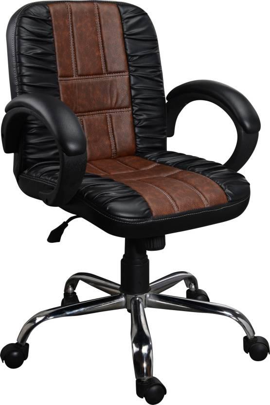 Regentseating RSC Leatherette Office Arm Chair Black
