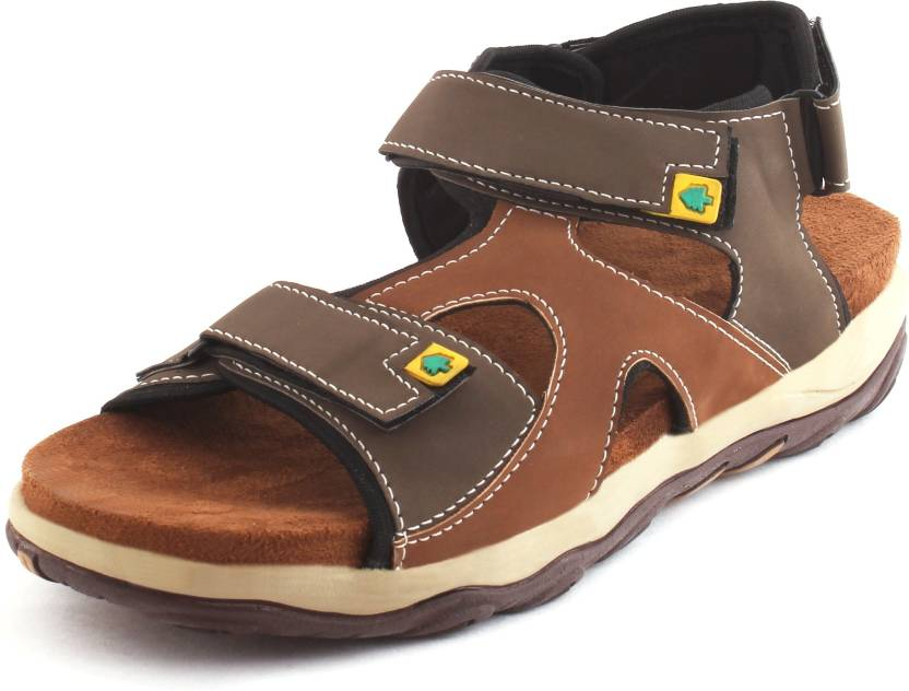 3c1b8e37486abf AUSTINJUSTIN Men Brown Sandals - Buy AUSTINJUSTIN Men Brown Sandals Online  at Best Price - Shop Online for Footwears in India