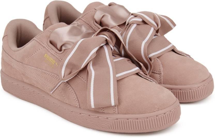 abc39c4f072 Puma Suede Heart Satin II Wn s Sneakers For Women - Buy Dark Purple ...