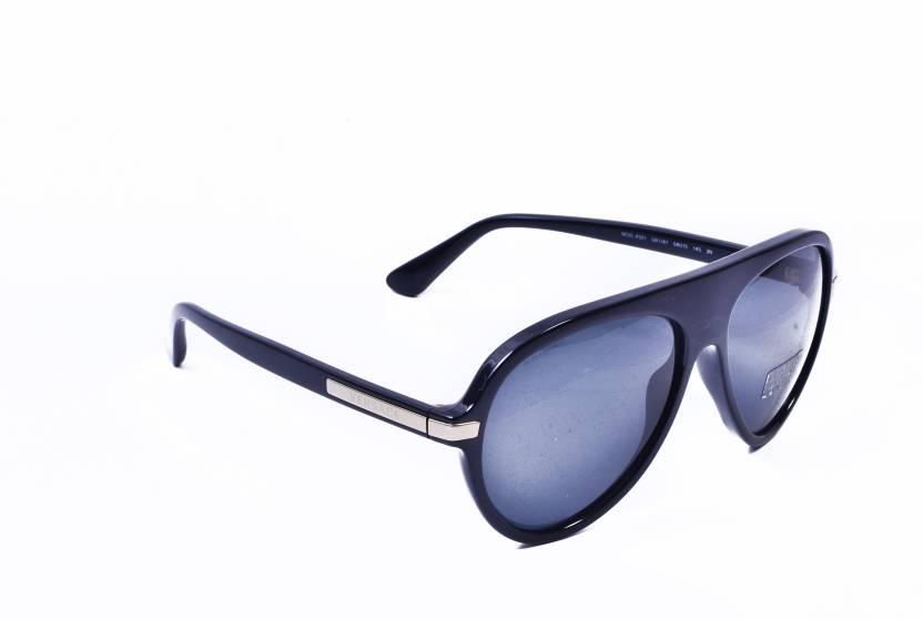 da3173c7982 Buy Versace Aviator Sunglasses Grey For Men Online   Best Prices in ...