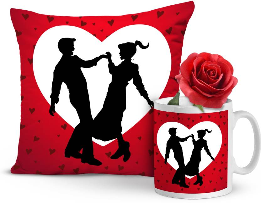 82b71608bd4a1 Tied Ribbons Valentine s day special gifts for Boyfriend Husband Wife Him  Her Lover Combo Pack(